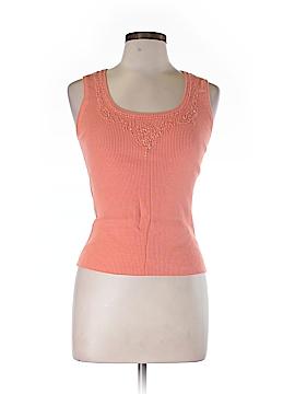 Kinross Sleeveless Silk Top Size L