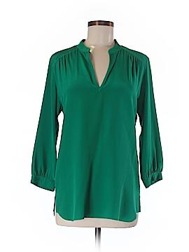 Amanda Uprichard 3/4 Sleeve Silk Top Size XS