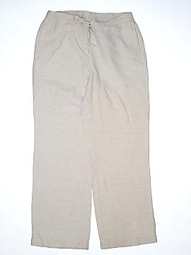 Kim Rogers Linen Pants Size 10 (Petite)