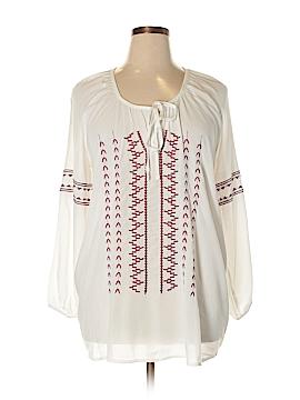 Dex Long Sleeve Blouse Size 1X (Plus)
