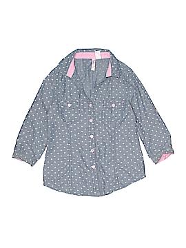 Japna Kids 3/4 Sleeve Button-Down Shirt Size 12