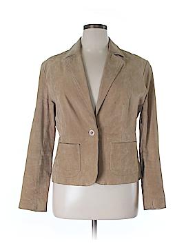 New York & Company Leather Jacket Size 16