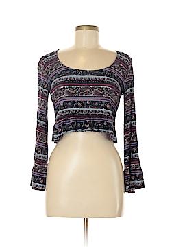 LA Hearts 3/4 Sleeve Blouse Size M