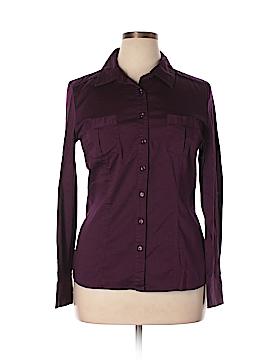 Como Long Sleeve Button-Down Shirt Size XL