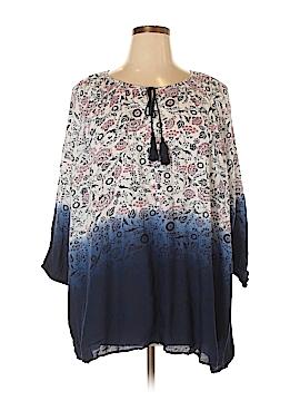 Dex 3/4 Sleeve Blouse Size 1X (Plus)