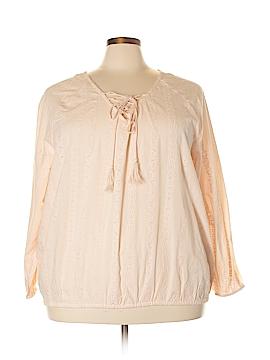 Dex Long Sleeve Blouse Size 3X (Plus)