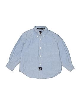 Gap Long Sleeve Button-Down Shirt Size X-Small  (Kids)