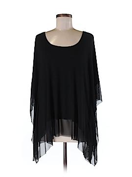 Joan Vass New York Short Sleeve Blouse Size M