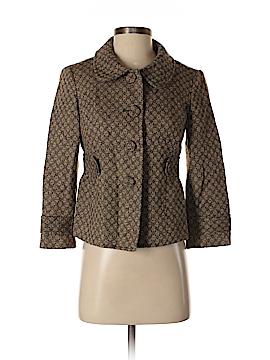Ann Taylor LOFT Women Wool Coat Size 0