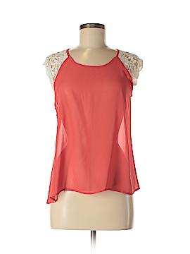 Miss Chievous Short Sleeve Blouse Size L