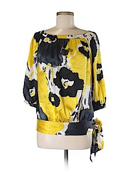 Spiegel 3/4 Sleeve Silk Top Size 2