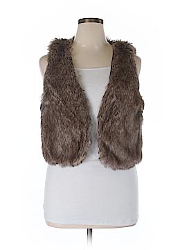 Delia's Faux Fur Vest Size XL