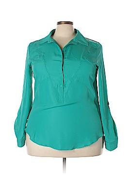 ECI Long Sleeve Button-Down Shirt Size XXL