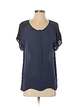 Michael Stars Short Sleeve Silk Top Size S