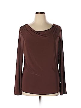 AK Anne Klein Long Sleeve Top Size XL