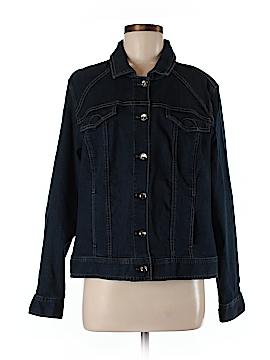 JM Collection Denim Jacket Size M