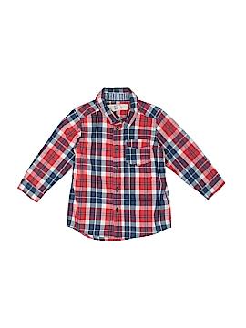 H&M L.O.G.G. Long Sleeve Button-Down Shirt Size 12-18 mo