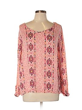 STETSON Long Sleeve Blouse Size L