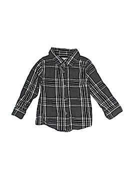 Joe Fresh Long Sleeve Button-Down Shirt Size 24 mo