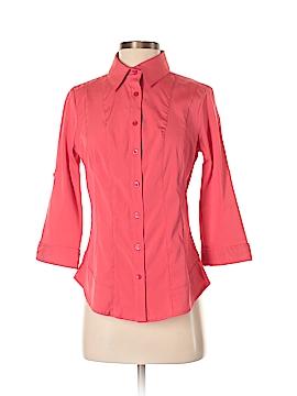 Antilia Femme 3/4 Sleeve Button-Down Shirt Size S