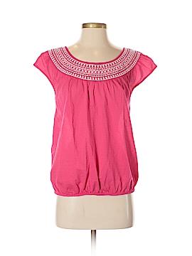 St. John's Bay Short Sleeve Blouse Size S