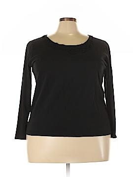 Chaps Long Sleeve Top Size 3X (Plus)