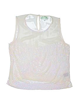 Lotus Sleeveless Blouse Size L