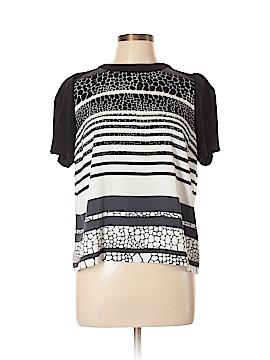 Halogen Short Sleeve Blouse Size L (Petite)