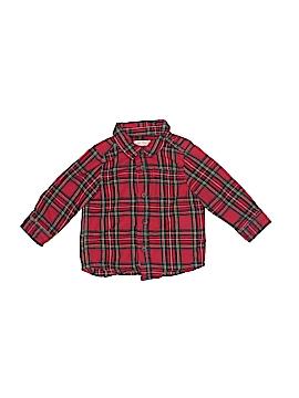 Joe Fresh Long Sleeve Button-Down Shirt Size 12-18 mo