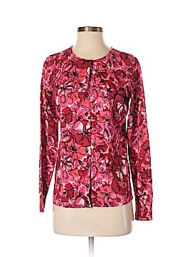 Amber Sun Silk Cardigan Size S