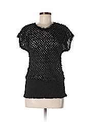 Voice Women Short Sleeve Blouse Size L