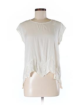 Sun & Shadow Short Sleeve Blouse Size M