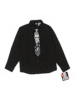 Star Wars Long Sleeve Button-Down Shirt Size X-Large (Kids)