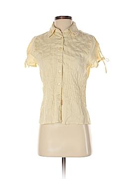 Tweeds Short Sleeve Button-Down Shirt Size S