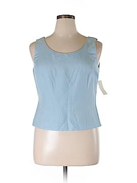 Tahari Sleeveless Blouse Size 14 (Petite)