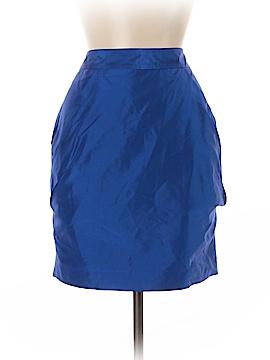 Julie Haus Silk Skirt Size 6