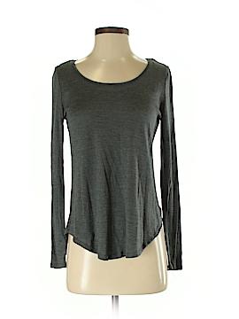 Cynthia Rowley for T.J. Maxx Long Sleeve Silk Top Size S