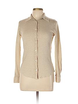 Majestic Filatures Long Sleeve Button-Down Shirt Size 2