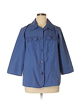 Francesca's 3/4 Sleeve Button-Down Shirt Size 16w