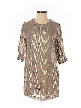 Ecote 3/4 Sleeve Silk Top Size XS