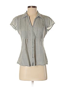 Converse Short Sleeve Button-Down Shirt Size S