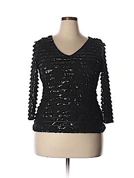 Frank Lyman Design 3/4 Sleeve Blouse Size 14
