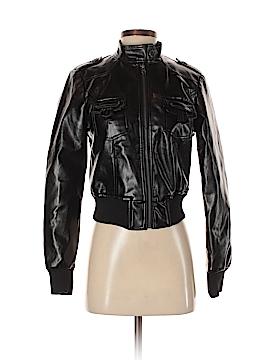 Deb Faux Leather Jacket Size S