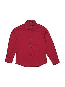 Dockers Long Sleeve Button-Down Shirt Size 7 - 8