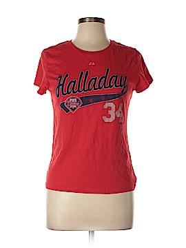 Majestic Short Sleeve T-Shirt Size L