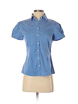 Banana Republic Factory Store Short Sleeve Button-Down Shirt Size 5