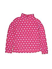 Uniqlo Girls Fleece Jacket Size 120 (CM)