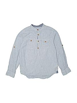 H&M L.O.G.G. Long Sleeve Button-Down Shirt Size 9-10