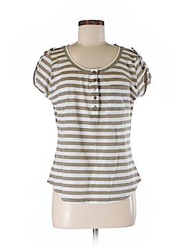 NY&C Short Sleeve Henley Size M