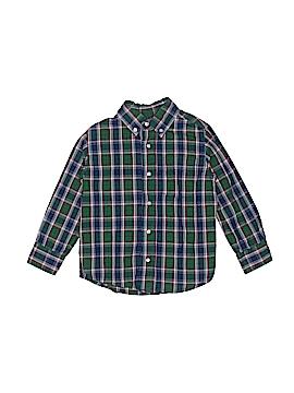 JK Kids Long Sleeve Button-Down Shirt Size 4